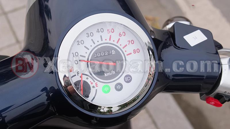 Đồng hồ cổ điển xe ga 50cc giorno tem chìm