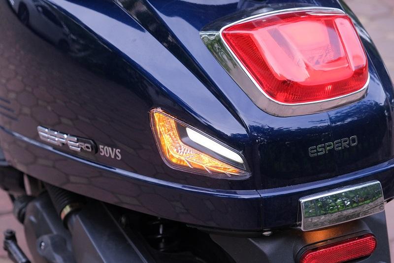 Đèn hậu xe ga 50cc Kitafu 50Vs Detech