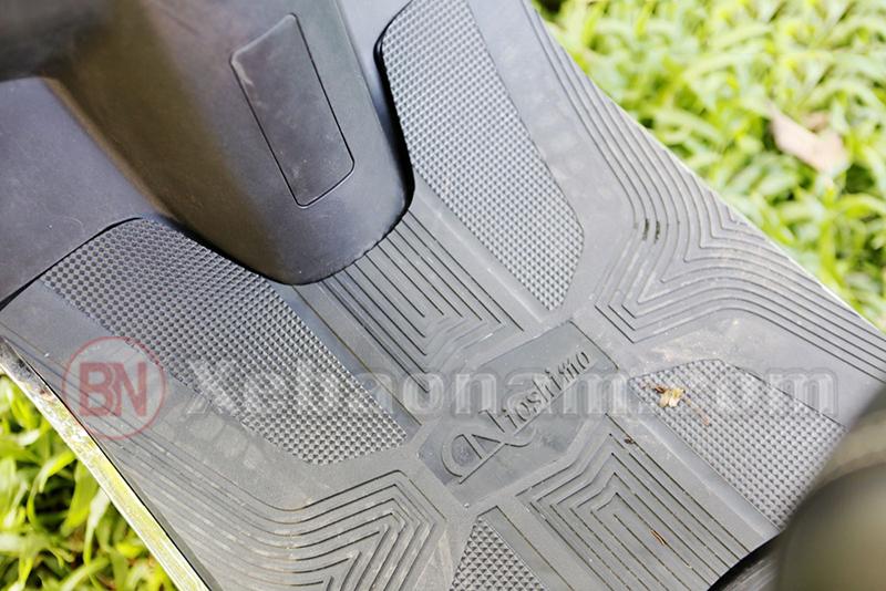 Sàn để chân xe ga 50cc nioshima f1