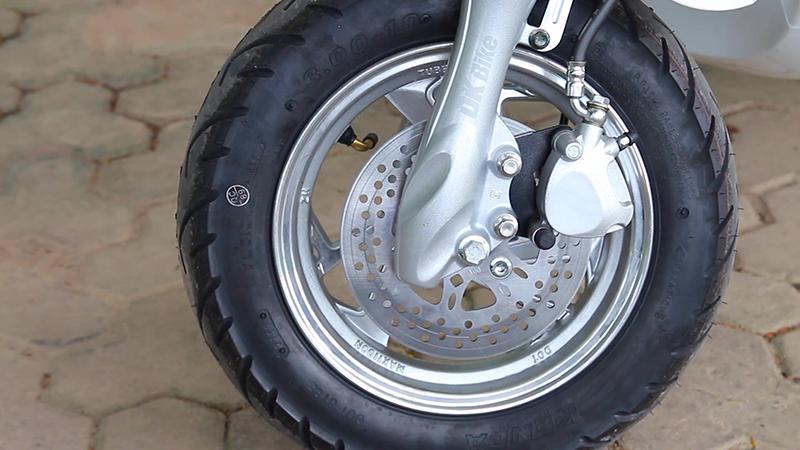 Phanh đĩa xe ga 50cc roma se dk bike