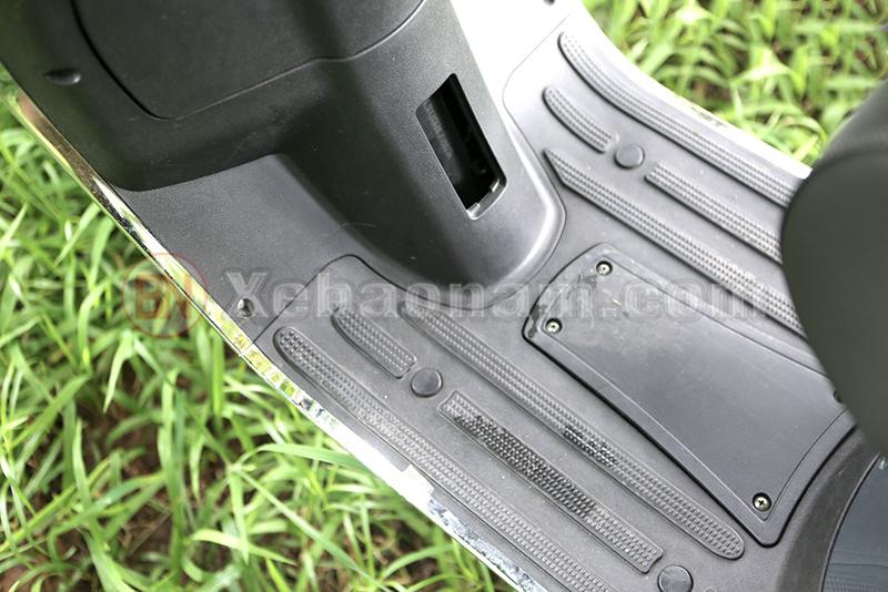 Sàn để chân xe ga 50cc vespa halim