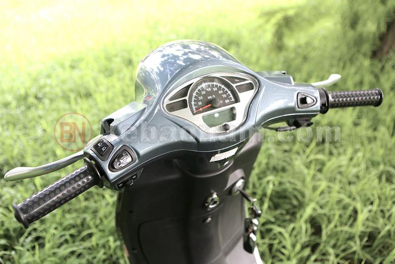 Đồng hồ điện tử xe ga 50cc vespa halim