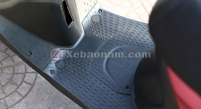 Sàn để chân xe ga 50cc s9 cực nổi bật