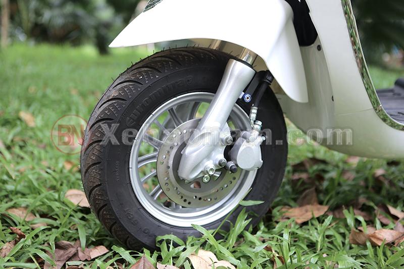 Phanh đĩa trước xe máy điện Vespa Nioshima X