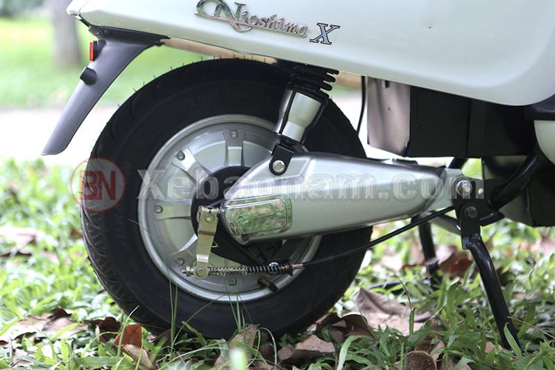 Động cơ xe máy điện Vespa Nioshima X