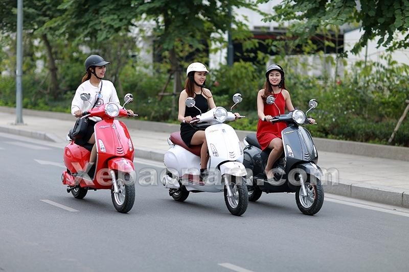 xe máy điện vespa nioshima