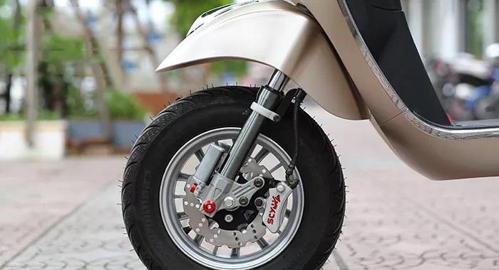 Phanh đĩa xe máy điện vespa nioshima s