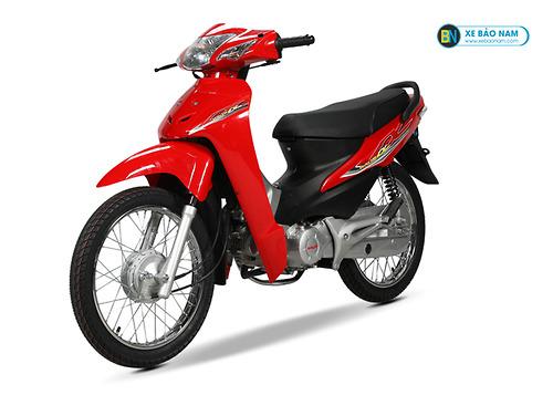 Màu đỏ trẻ trung, năng động, nóng bỏng cực thích hợp với người mệnh Hỏa theo phong thủy. Theo đó, giá của xe wave 50cc chính hãng này đang được bán với mức giá 12.000.000