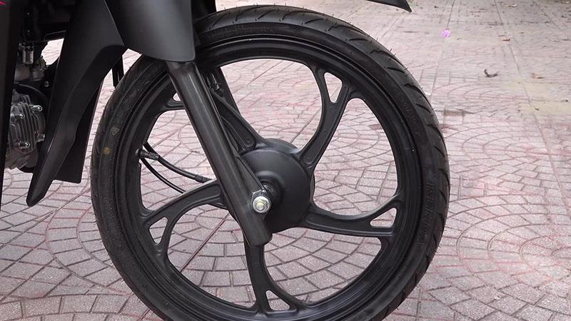 Bánh trước xe máy 50cc sym elegant vành đúc