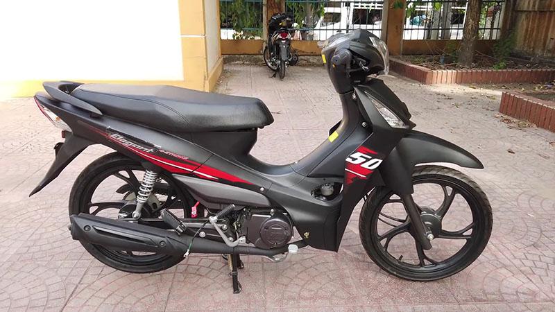 Xe máy 50cc sym elegant vành đúc