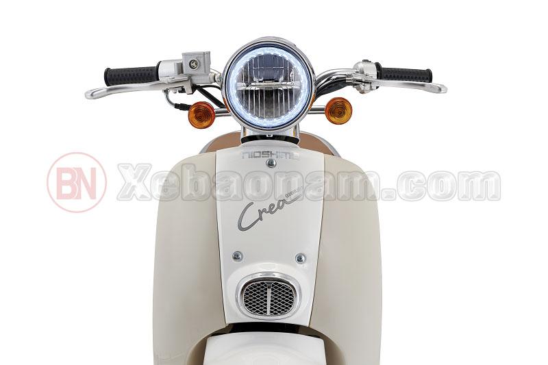 Đầu xe tay ga 50cc crea nioshima