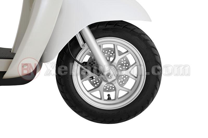 Phanh đĩa an toàn xe tay ga 50cc crea việt thái
