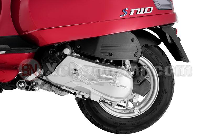 Động cơ xe ga 50cc nioshima s