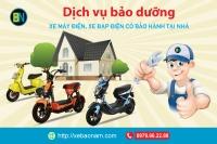 Sửa chữa xe điện - xe đạp điện - xe máy điện chính hãng tại nhà