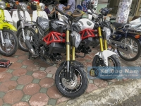 Lộ diện Ducati Mini phiên bản mới cực chất cực ngầu!