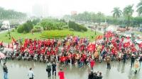Hoạt động cổ vũ bóng đá U23 Việt Nam - Câu lạc bộ Ducati Mini Monster 110