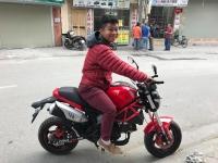 Album Khách hàng mua xe Ducati Mini Monster 110 tại Xe Bảo Nam