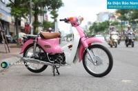 Xe 50 Indo màu hồng- thời trang của phái đẹp
