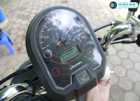 Tham gia giao thông an toàn với xe ga 50cc Honda Dunk