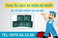 Thay Acquy xe đạp điện Sửa chữa xe đạp điện tại Nhà giá rẻ nhất Hà Nội