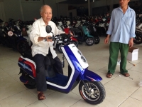 Đánh giá chi tiết ''Xe máy điện Dina 2017'' chính hãng có bán tại Xe Điện Bảo Nam