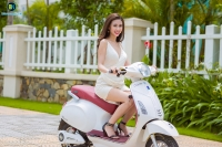 Xe máy điện Vespa Nioshima 2018 Sức cuốn của vẻ đẹp phong cách của giới trẻ