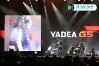 """Yadea G5 – """"Siêu phẩm"""" dòng xe máy điện thông minh gây sốt thị trường Việt Nam"""