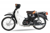 Tại sao nên lựa chọn xe máy cub 81 màu đen?