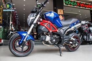 Soi chi tiết xe máy Ducati Monster 110 đang Hot nhất hiện nay.