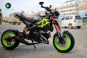 Xe máy Ducati Monster 110 độ đẹp - độc nhất vô nhị