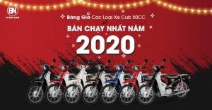 TỔNG HỢP NHỮNG CHIẾC XE CUB 50 BÁN CHẠY NHẤT THÁNG 4/2020