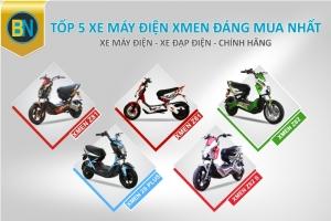 Top 5 xe máy điện Xmen đáng mua nhất
