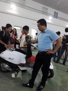 Detech Motor trình làng xe ga 50cc không cần bằng lái