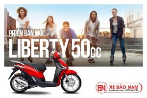 Ưu điểm của dòng xe ga 50cc Liberty Piaggio mới nhất tại Xe Bảo Nam
