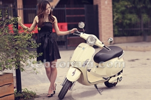 """""""Sức hút khó cưỡng"""" của xe máy điện Vespa Minoshima Byvin"""