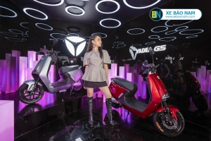 Ông lớn Yadea chính thức đổ bộ thị trường Việt Nam, ra mắt sản phẩm xe máy điện Yadea G5