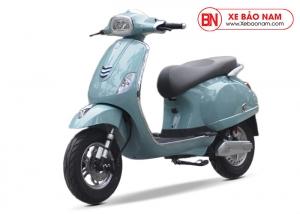 Xe máy điện Vespa DK ROMA SV 2019 màu xanh
