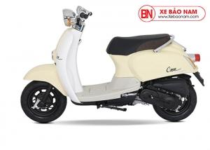 Xe ga 50cc Crea màu kem 2019 New