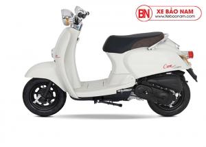 Xe ga 50cc Crea màu trắng đục 2019 new