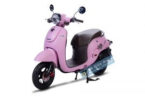 Xe ga 50cc Giorno Màu Hồng Phanh đĩa (Hết hàng)