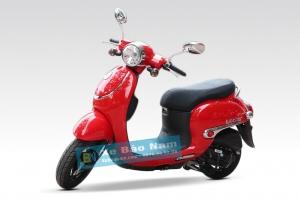 Xe ga 50cc Giorno tem nổi - Màu Đỏ