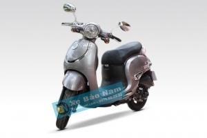 Xe ga 50cc Giorno tem nổi - Màu Xám Bạc