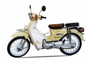 Xe máy Cub 50 81 Kitafu Detech Vành Đúc(Espero Đà Nẵng & HCM)