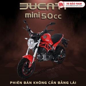 Xe máy Ducati Monster 50CC màu đen đỏ