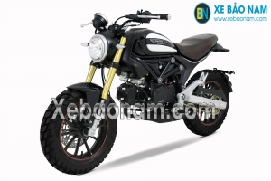 Xe Máy Ducati Scrambler 110cc màu đen