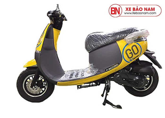 Xe ga 50cc GOGO VMOTOR màu vàng MỚI NHẤT 2019
