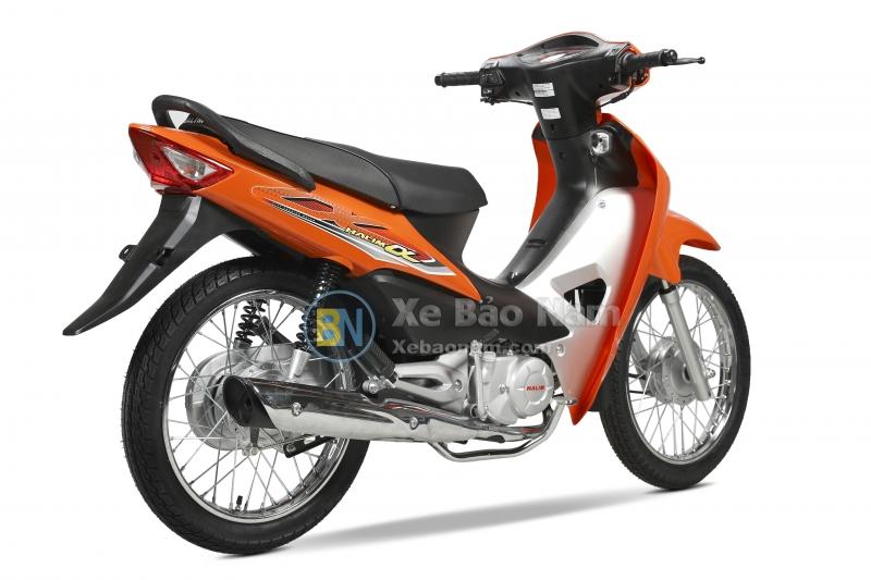 Xe máy Wave Halim 50cc Màu Cam 2019