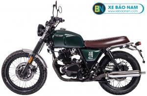 Xe Brixton Classic BX150 màu xanh lá đậm