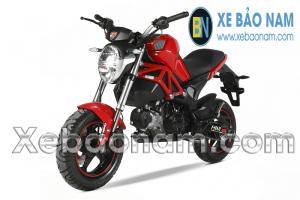 Xe máy Ducati Monster 50CC màu đỏ