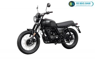 Xe Brixton Scrambler BX150X màu đen
